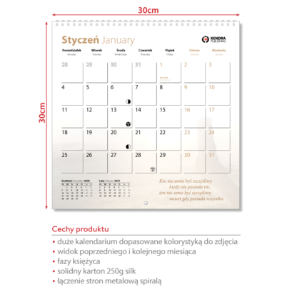 Kalendarz 2021 - Barwy Natury